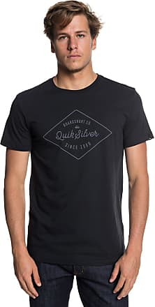 Quiksilver Classic Amethyst - T-Shirt for Men - T-Shirt - Men - L Black