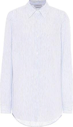 Gabriela Hearst Reyes striped cotton and linen shirt
