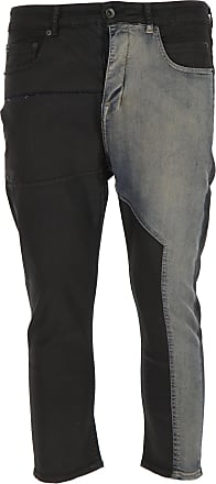 Rick Owens Jeans On Sale in Outlet, Black, Cotton, 2019, US 30 - EU 46 US 31 - EU 47 US 32 - EU 48