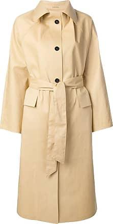 Kassl Editions Trench coat com cinto - Neutro
