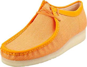 Clarks Wallabee Mens Wallabee Shoes in Orange - 10.5 UK