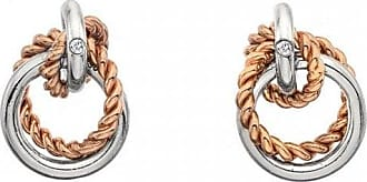 Acotis Limited Hot Diamonds Unity Circle Earrings Rose Gold DE611