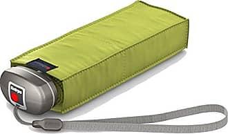 Knirps 815 Ultra-Compact Manual Open/Close Travel Umbrella, Lemon