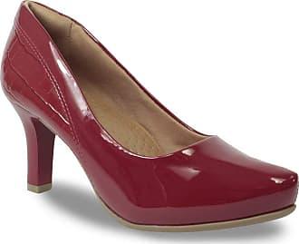 4126499e4 Comfortflex Sapato Scarpin Comfortflex Feminino Croco Verniz