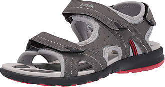 kamik Womens Clearlake Ankle Strap Sandals, Grey (Charcoal Cha), 7 UK