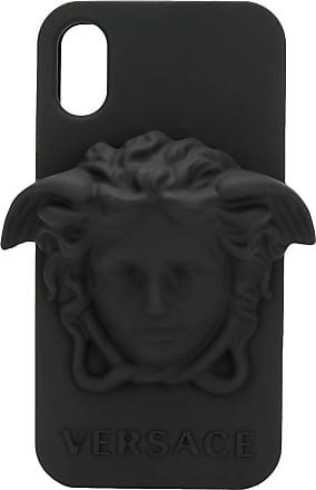 Versace Capa para iPhone X Medusa - Preto