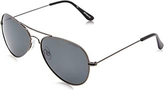 Polaroid Mens 04213 Y2 A4X 58 Sunglasses, Gun/Grey Pz