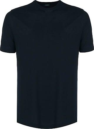 Zanone Camiseta mangas curtas - Azul