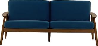 SLF24 Demure 3 Seater Sofa-Velluto 11-dark oak