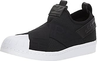 adidas Originals Womens Superstar Slipon W Sneaker Running Shoe, core Black/White, 9 M US