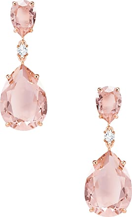 Swarovski Brincos Vintage Drop, Rosa, Metal Rose Gold
