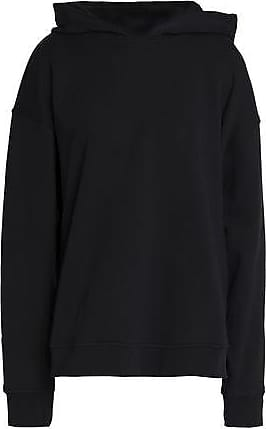 1807fa4afe94 Alexander Wang Alexander Wang Woman Oversized Appliquéd French Cotton-terry Hoodie  Black Size XS
