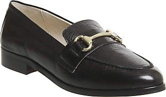 Office Fluster Loafer Black Groucho Leather - 4 UK
