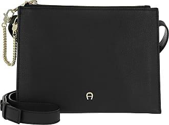 fac3e016dbfd3 Aigner Lana S Shoulder Bag Black Umhängetasche schwarz
