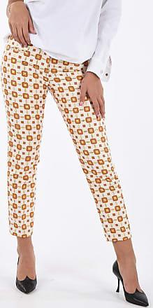 True Royal pantalone dritto JINNY Fantasia Geometrica taglia 42