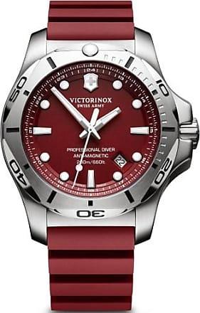 Victorinox by Swiss Army Swiss Army I.N.O.X. Pro Diver 241736.1 Red Quartz Mens Watch