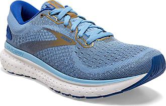 Brooks Womens Glycerin 18 Running Shoe, Cornflower/Blue/Gold, 6.5 UK