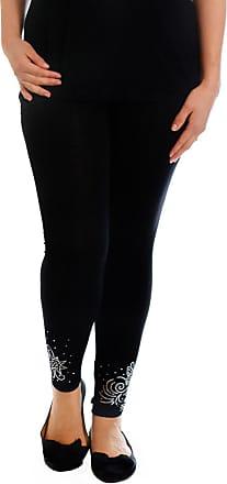 Nouvelle Collection Dot Foil Long Leggings Black 28-30