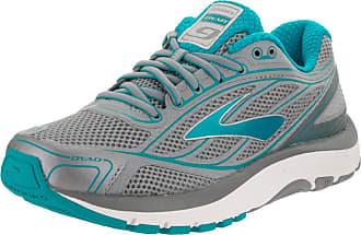 cd4d96928548 Brooks Womens Dyad 9 Primer Grey Capri Breeze Silver Running Shoe 6 Women US