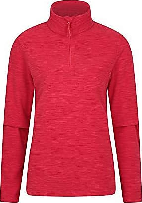 F/ür Wandern schnelltrocknend Arbeitshemd mit Antipilling leicht Campen in kalter Jahreszeit Fr/ühling atmungsaktives Top Mountain Warehouse Herren-Fleece-Shirt warm