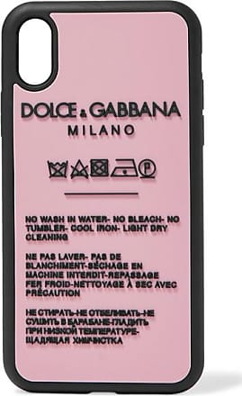 Dolce & Gabbana Printed Silicone Iphone Xr Case - Pink