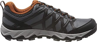 Columbia Mens Peakfreak X2 Outdry Shoe, Grey (Graphite, Dark Adobe 053), 10.5 UK