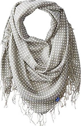 Keds Womens Square Scarf with Fringe, Ghost Micro Dot, One Size