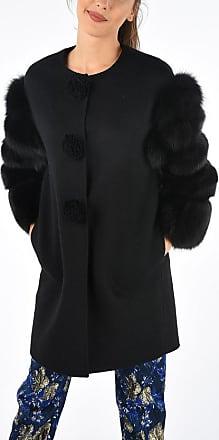 Ermanno Scervino Real Fur Details Coat size 38