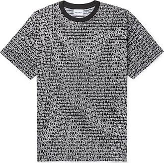 Carhartt Work in Progress Logo-jacquard Cotton T-shirt - Black