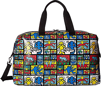 Alice   Olivia Keith Haring X Alice + Olivia Whitney Printed Weekender  (Dancing Man) ac98fbe1f6713