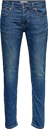 Only & Sons Performance Jeans - Denim Blue
