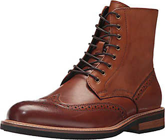 Kenneth Cole Reaction Mens Design 20635 Combat Boot, Cognac, 8 M US