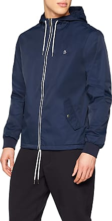 Original Penguin Mens Ratner Jacket, Blue (Dark Sapphire 413), (Size:XXL)