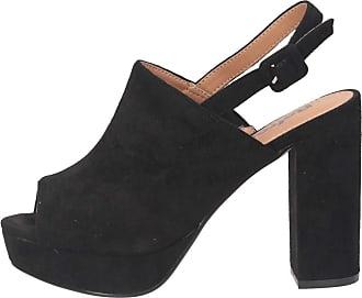 Refresh 69536 Womens Shoes Sandals High Heel Black Size: 5 UK