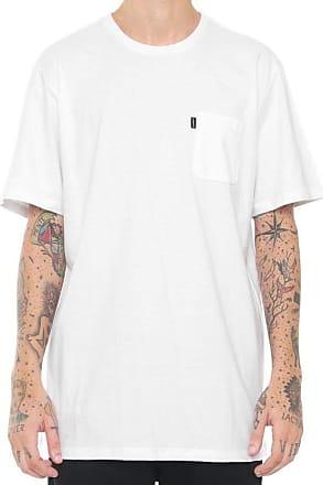 Element Camiseta Element Minimal Pocket Branca