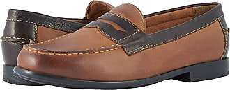 98b4f542162 Nunn Bush Drexel Moc Toe Penny Loafer with KORE Walking Comfort Technology ( Brown Scotch