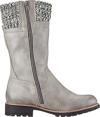 Jana Womens 8-8-26438-23 Ankle Boots, Grey (Stone 231), 6 UK