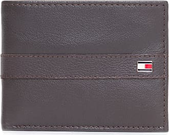 Tommy Hilfiger CARTEIRA MASCULINA NAPPA MILLE DPASSCASE WALLET - MARROM