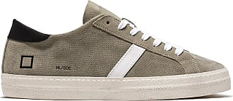 D.A.T.E. hill low suede perforated cera