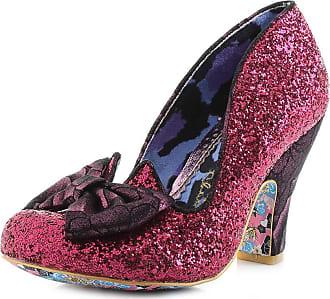 Irregular Choice Nick of Time Womens Heeled Court Shoes (8 UK, Pink/Purple (Pink/Purple AW))