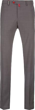 Kiton Hose mit schmalem Schnitt - Grau
