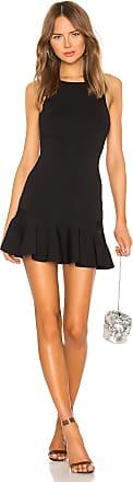 Superdown Jazzie Ruffle Dress in Black