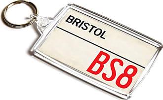 ILoveGifts KEYRING - Bristol BS8 - UK Postcode Place Gift