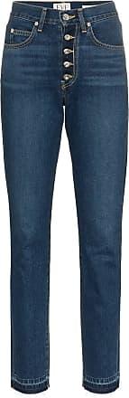 Eve Denim Calça jeans Silver Bullet reta - Azul