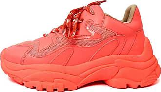 Damannu Shoes Tênis Chunky Malibu Neon Salmão - Cor: Salmão - Tamanho: 35