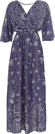 Dress To Vestido Longo Estampa Night Sky - Azul