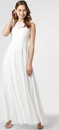 Luxuar Fashion Damen Brautkleid beige