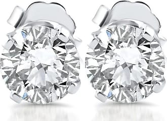 Pompeii3 SI 1/5ct Diamond Studs 14K White Gold