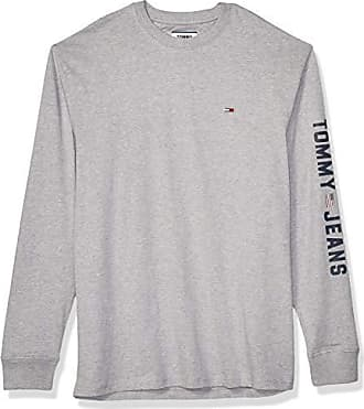 Tommy Hilfiger Mens Classic Long Sleeve Logo Polo Shirt Tommy Black, X-Small