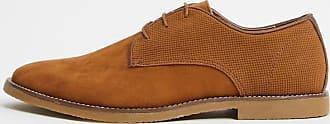Topman lace up shoe in tan-Brown